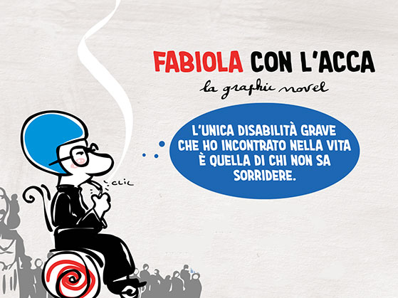 superabile presentazione fabiola graphic novel
